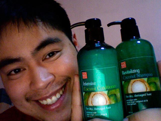 Zen Zest Revitalizing Coconut Shampoo and Zen Zest Intensive Coconut Conditioner