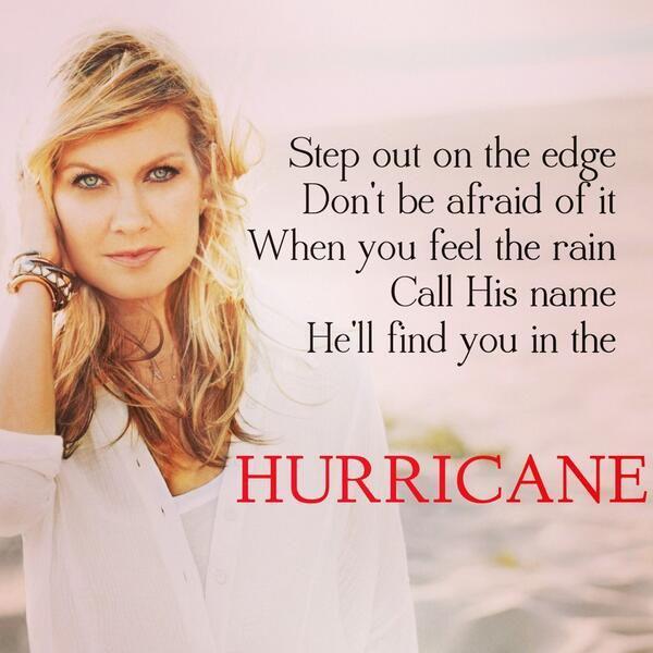 "Natalie Grant, ""Hurricane"""
