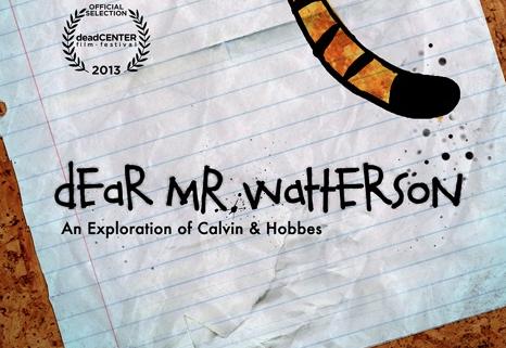"""Ganns Likes: """"Dear Mr. Watterson"""""""