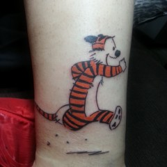 Ganns Likes: My New Hobbes tattoo (and Dave Suarez)