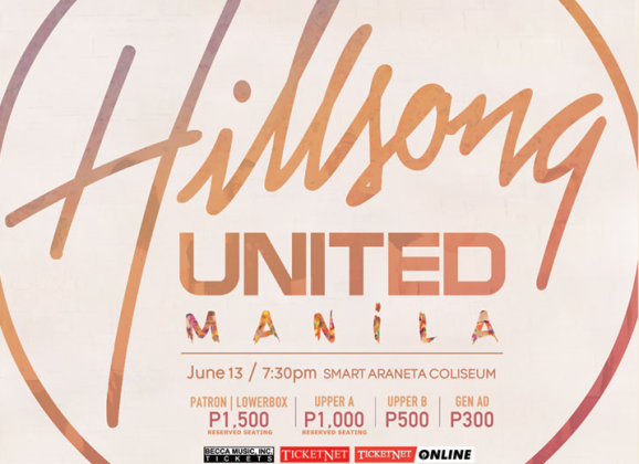 Hillsong UNITED is coming to Manila this June 2014!