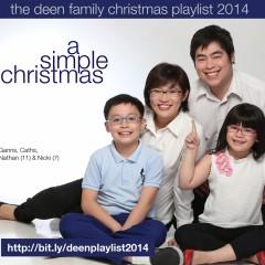 A Simple Christmas: the Deen Family Playlist 2014