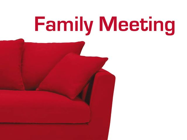 The Deen Family Meeting: A Simple Family Meeting Template
