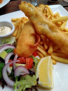 Italian Restaurant in Canberra - Fish and Chips