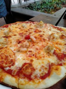 Italian Restaurant in Canberra - Prawn Pizza