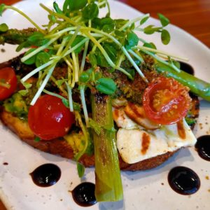 Forest Toast - Sunday in Canberra Gungahlin Cafe