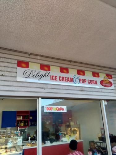 Delight Ice Cream and Popcorn - Shopfront